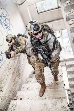 rangers in action by zabelin on PhotoDune. United States Army rangers during the military operation Military Gear, Military Police, Military Weapons, Military Equipment, Armas Airsoft, Us Ranger, Military Special Forces, Naval, Military Pictures
