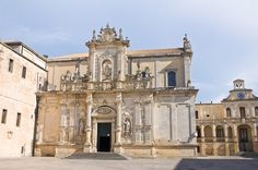 """""""The baroque lady""""... The ancient centre of the city of Lecce. Lecce is also called """"The baroque lady"""". It's this art which characterize spires, portals, churches, monuments and houses of the """"centro storico""""."""