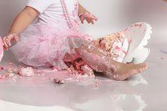 Cake Smash, Ballet Skirt, Girls, Photography, Fashion, Photo Shoot, Toddler Girls, Moda, Tutu