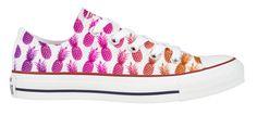 Custom 3's a Pineapple Converse Low Tops // #QTeeShirts Xx More