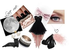 """""""midnight moon"""" by kriasa ❤ liked on Polyvore"""