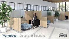 Our workplace distancing solutions provide environments that keep people healthy, safe and productive.  Create healthier workspaces with our soft seating, panel system, acrylic privacy screens, freestanding acrylic screens, fixed acrylic screens, surface lateral acrylic screens, end surface acrylic screens, laminate lateral gallery panels with acrylic screens and more!   #groupelacasse #workplacedistancing #physicaldistancing #staysafe #smartspaces #privacy Panel Systems, Soft Seating, Laundry Room Design, Office Furniture, Workplace, Privacy Screens, Space, Modern, Create