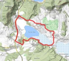 Klopeiner See, Map, Tours, Hiking, Summer, Location Map, Maps