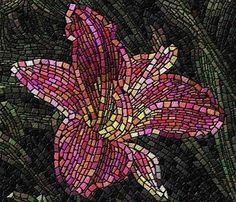Mosaicos - Cida: Ofereço esse primeiro aniversário do mosaicos a Jesus e Maria, pois não compreendo a vida, senão com a presença Deles constantemente ao meu lado.
