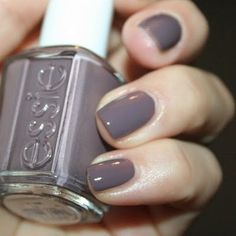 Essie Merino Cool...happen to be wearing a very similar color right now and I like it a lot