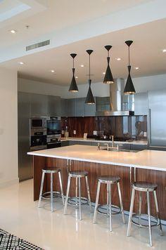 Grand and luxury mini kitchen design  #luxury kitchen designs #modern interiors