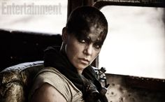 From her shaved head and war rig to her mechanical arm, Charlize Theron's Imperator Furiosa in George Miller's Mad Max: Fury Road has been a high point of the new film. A determined action hero who is resourceful and fierce, Miller's surprisingly… Mad Max Fury Road, Charlize Theron, Tom Hardy, Gq, Mel Gibson, Best Apocalypse Movies, Rosie Huntington Whitley, Road Trip Movie, Road Trips