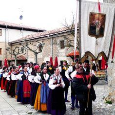 Traje tipico regional de Segovia.