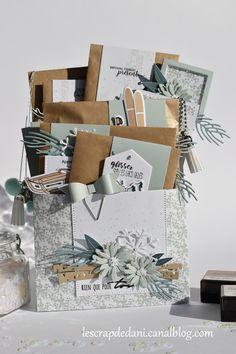 Dani loaded enveloppe Winter Com Pocket Envelopes, Card Envelopes, Mini Scrapbook Albums, Mini Albums, Snail Mail Flipbook, Envelope Tutorial, Diy Cadeau Noel, Snail Mail Pen Pals, Pocket Letters