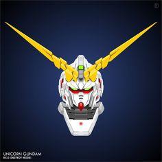 #gundam #vector #mobilesuit #mecha #plamo #unicorn Gundam Unicorn RX-0 Destroy Mode