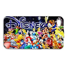 Disney Character Sign Collage Adorable Cute Funny iPhone Case Cinderella Aladdin Beauty and the Beast Little Mermaid Mickey Mouse Donald Duck Pinocchio Winnie the Pooh Bear