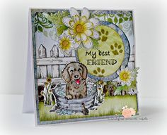 My Best Friend...featuring the Pampered Pooch Collection by Heartfelt Creations