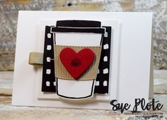Welcome...to Sunday...and to the Stamp Review Crew Blog Hop! We're featuring the Coffee Cafe Stamp Set...an amazing set with everything ...