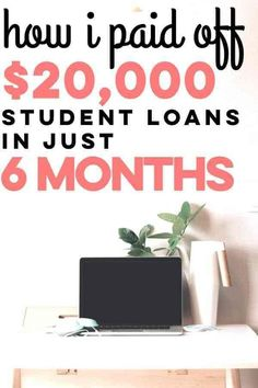 Paying off student loans is really difficult. These are simple tips for paying students. Paying off student loans is really hard. These are simple tips to paying off student loans really fast! If you want to get out of debt, you need to use these frugal l Apply For Student Loans, Private Student Loan, Federal Student Loans, Paying Off Student Loans, Student Loan Debt, Student Loan Repayment, Loan Money, Student Loan Forgiveness, Budget Planer