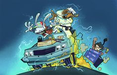 Back to the future, sam and max...perfect