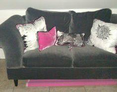 Sweetwater Style: Sofa Redo-Would You Believe-Polar Fleece?
