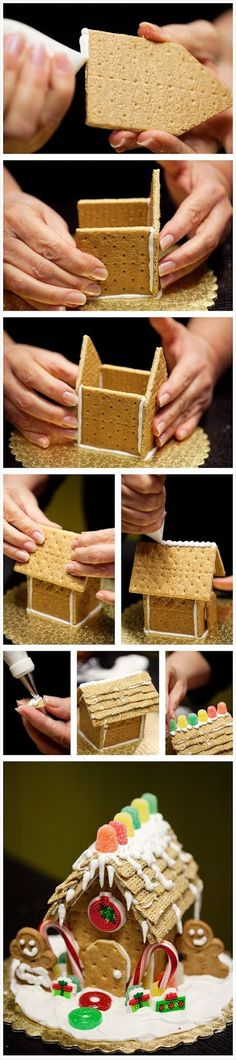 Build a gingerbread house with graham crackers. |motivational trends