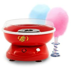 Jelly Belly Cotton Candy Maker Machine, Red