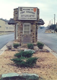 Fort Chaffee adjacent to Fort Smith Arkansas - no longer a military base