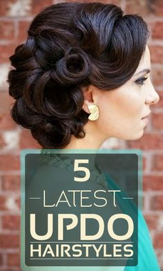 Have a look at these latest updo hairstyles sported by celebrities and get some ideas. They are so simple that can be worn anytime for luscious ...