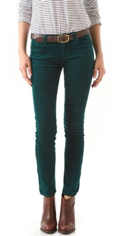 LOVE these pants. Gap's 1969 Skinny Boot Corduroy Pants in Dried ...