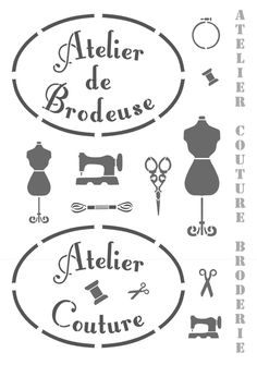 Atelier Couture Brodeuse