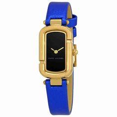 Marc Jacobs The Jacob Ladies Metallic Blue Watch MJ1501