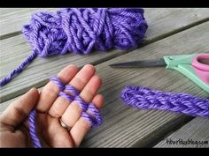 Episode 80: How to Finger Knit - YouTube