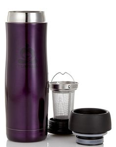 TEAVANA Contour Tumbler...the love of my life...mine is in emerald green.  It keeps my tea hot for 8 - 10 hours.