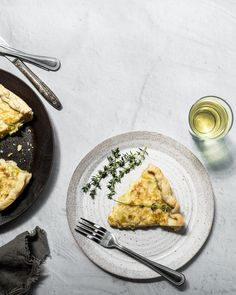 Savory French Leek Tart - Chasing the Seasons Savory Pastry, Savory Tart, Leek Tart, Comte Cheese, Large Pizza, Homemade Pie, Light Cream, Side Salad, Salted Butter