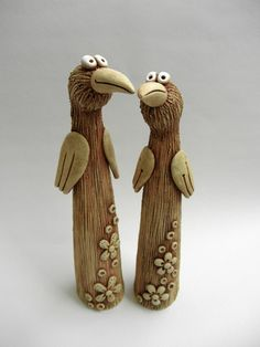 funny birds, for totems maybe