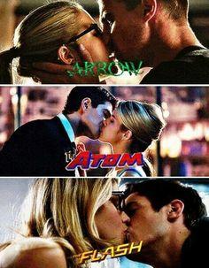 Felicity loves her hero's ;)