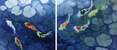 Koi Pond by Carole Yee