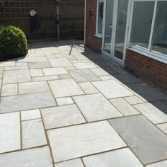 Autumn Brown Indian Sandstone Value Trade Packs Sandstone Slabs, Pearl White, White Leather, Garden Design, Patio, Autumn, Pearls, Brown, Outdoor Decor