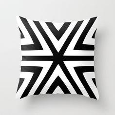 Free Shipping! Promo Link: http://society6.com/trebam?promo=CZQCBQZYRD6Q   |  Morska Throw Pillow by trebam X Society6  |  @society6art @trebamstyle #pillows #homedecor #blackandwhite