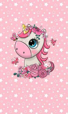 Minnie Mouse Nursery, Cartoon Unicorn, Baby Clip Art, Kawaii Drawings, Fantasy, Cartoon Wallpaper, Unicorn Party, Kids Cards, Cute Cartoon