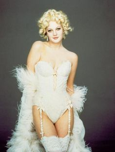 """drew barrymore as Sugar in Batman Forever (1995). Another classic """"lingerie in film"""" moment for me"""