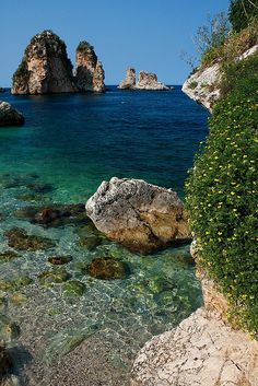 Tonnara di Scopello, Sicily, Italy by erikruthoff, via Flickr