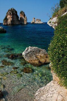 Tonnara di Scopello, Sicilia Italy