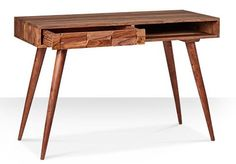 Zabel midcentury-style rosewood desk at Swoon Editions