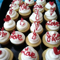 Cupcake Decorating Ideas For Bridal Shower : Lisa s Bridal shower ideas! on Pinterest Wedding Showers ...