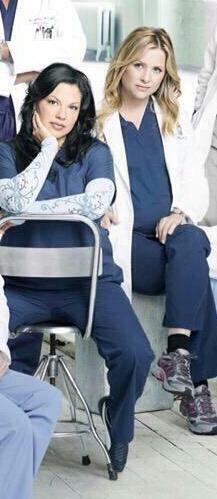 Greys Anatomy Callie, Greys Anatomy Cast, Perfect Couple, Best Couple, Grey's Anatomy, Sara Ramirez, Jessica Capshaw, Arizona Robbins, Attention