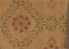 Raymond Waites wood paneling with primitive stencil design wallpaper 51493110