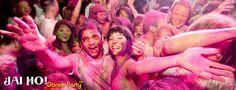 Jai Ho Dance Party! Enjoy!!! Holi Dance, Perfect Pink, Party, People, Color, Colour, Parties, People Illustration, Folk