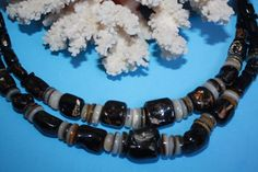 @BlackCoral4you Black Coral-Shell and Sterling Silver / Coral Negro-Concha y Plata de Ley  http://blackcoral4you.wordpress.com/necklaces-io-collares/