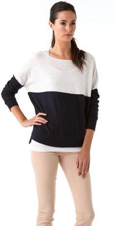 Vince Block Sweater