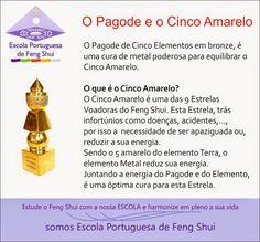 Escola Portuguesa de Feng Shui: O PAGODE E O CINCO AMARELO