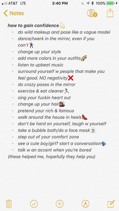 how to gain confidence Life Hacks For School, Girl Life Hacks, Self Confidence Tips, Gaining Confidence, Get My Life Together, Beauty Tips For Glowing Skin, Hoe Tips, Glow Up Tips, Baddie Tips