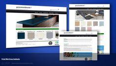 Green Ambiente, desarrollo y diseño de portal web. http://www.greenambiente.com/