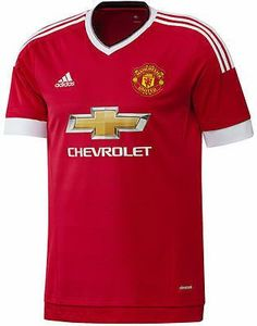 Manchester United Football Club Home Jersey 2015 to 2016 Large Adult adidas MUFC Camisa Manchester United, Manchester United Youth, Boys Home, Barclay Premier League, Cool Sweaters, Football Shirts, Soccer Jerseys, Sweater Shirt, Online Shopping Stores